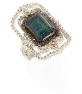 Armenta New World Scroll Diamond Ring