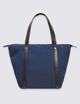 M&S Collection Strap Stud Tote Bag with StormwearTM