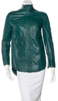 Balmain Lightweight Leather Jacket w/ Tags