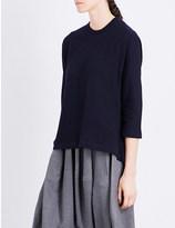 Comme des Garcons Oversized cotton-jersey top