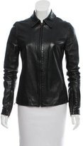 Dolce & Gabbana Vintage Leather Jacket
