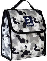 N. Girls' Wildkin Munch 'n Lunch Bag - Camo Grey Back to School