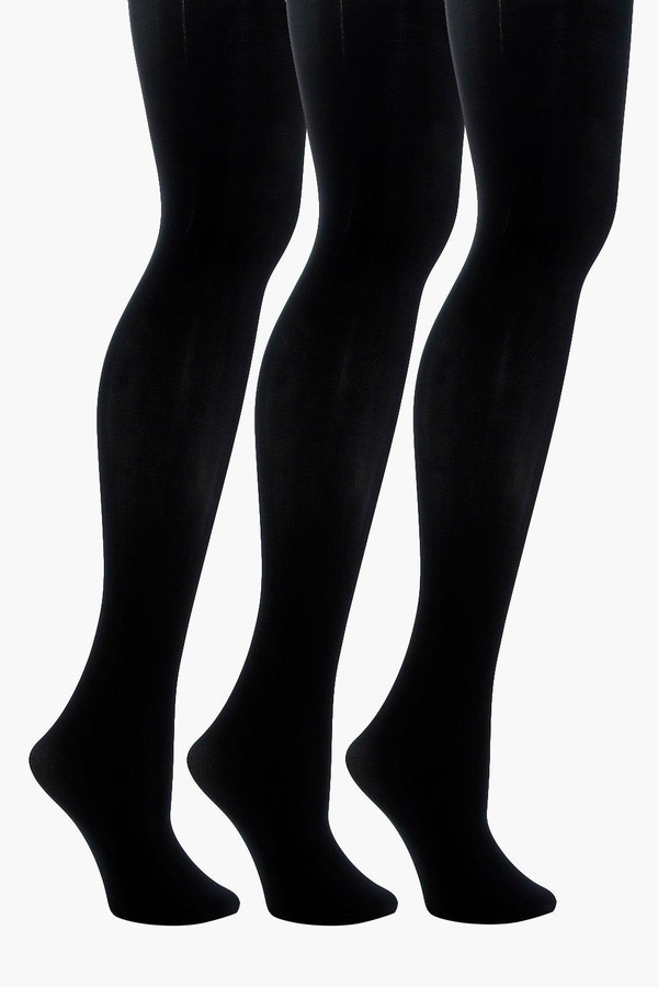 40 Denier 3 Pack Microfibre Tights