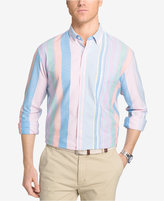Izod Men's Striped Pastel Cotton Shirt