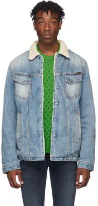 Nudie Jeans Blue Denim Lenny Jacket