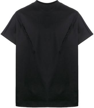 Alchemy pintuck detail T-shirt