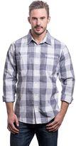 Lee Men's Classic-Fit Plaid Textured Button-Down Shirt