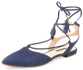 Ava & Aiden Ankle-Wrap Flat