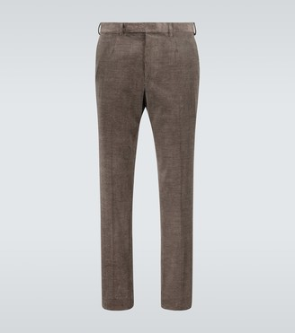 Ermenegildo Zegna Straight-fit corduroy pants
