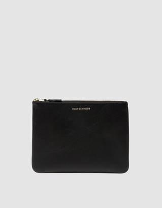 Comme des Garcons Classic Leather Line SA5100 Wallet in Black