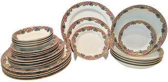 One Kings Lane Vintage 20-Pc French Limoges Dinnerware Set - Jacki Mallick Designs