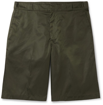 Prada Logo-Appliqued Nylon-Gabardine Shorts
