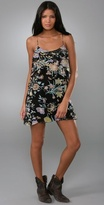 Dawn Wild Floral Layered Slip Dress