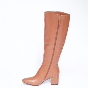 Collection & Co - Elma Boots Tan - 35 / Black