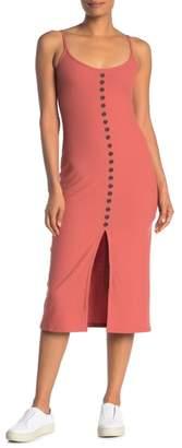 Dress Forum Rib Knit Midi Dress