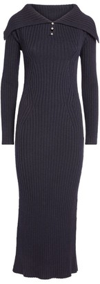 Lanvin Long-Sleeved Knitted Dress