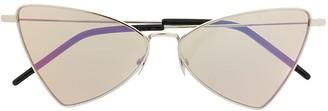 Saint Laurent Triangle Frame Sunglasses