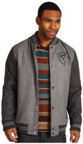Famous Stars & Straps Family Ties Jacket (Charcoal Heather/Athracite Heather) - Apparel