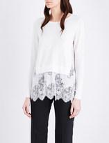 Claudie Pierlot Miki cotton-blend jumper