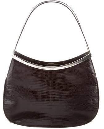 Gianni Versace Lizard Frame Bag
