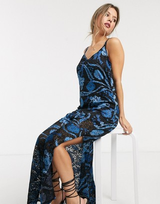 Raga Ocean Song floral print sleeveless maxi dress