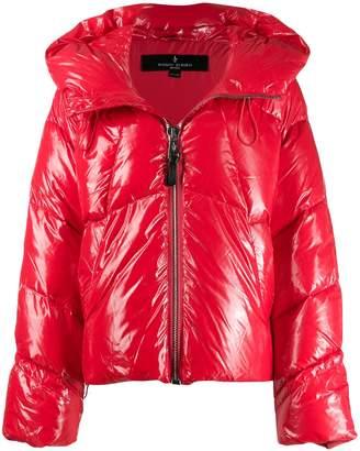 Nicole Benisti glossy shell puffer coat