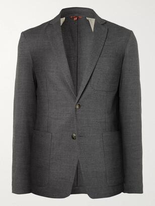 Barena Slim-Fit Unstructured Wool-Blend Blazer - Men - Gray