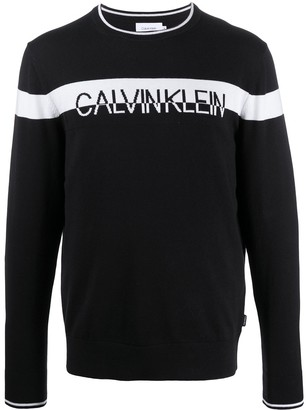 Calvin Klein Chest Logo Jumper