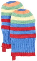 Toby Tiger Knitted Mittens Bold Boy's Gloves 0-3 Months