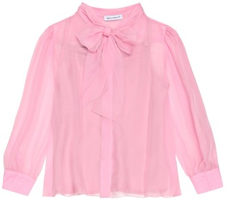 Dolce & Gabbana Kids Silk blouse
