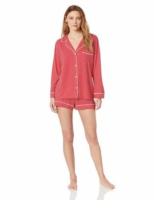 Eberjey Women's Sleep Chic Long Sleeve/Short PJ Set