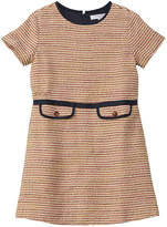 Brooks Brothers Girls' Wool-Blend A-Line Dress
