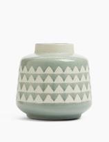 Marks and Spencer Medium Geometric Vase