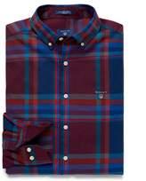 Gant Tech PrepTM Regular Fit Wool Big Check Shirt