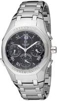 Accurist Grand Complication Men's Quartz Watch with Dial Chronograph Display and Silver Stainless Steel Bracelet GMT102