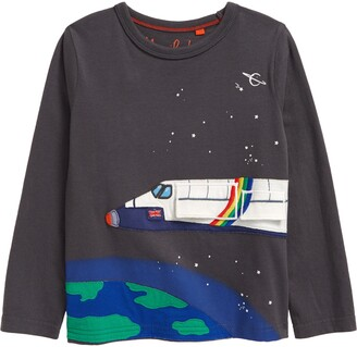 Boden Kids' Space Shuttle Graphic Tee