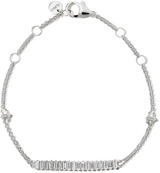 Alinka 18kt white gold AURORA diamond bracelet