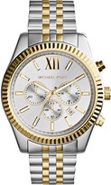 Michael Kors MK8344 lexington stainless steel chronograph watch