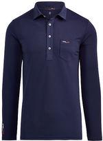Ralph Lauren Rlx Golf Custom Fit Long-Sleeve Polo
