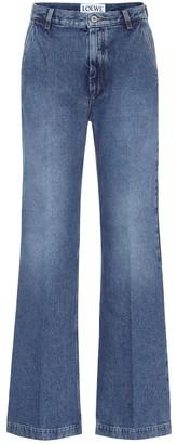 Loewe High-rise flared jeans