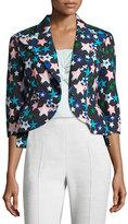 DELPOZO Classic Star-Print Jacket, Blue