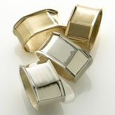 Octagon Napkin Rings by Aman Imports