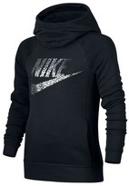Nike Cotton Blend Hoodie (Big Girls)