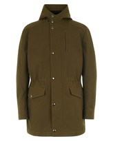 Jaeger Cotton Hooded Parka