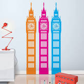 Little Darlings funky Big Little Ben Wall Sticker Clock