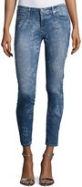 AG Jeans The Legging Ankle Printed, Blue