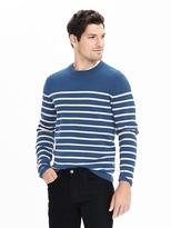 Banana Republic Milano Stripe Crew