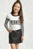 FOREVER 21 girls Girls Five-Pocket Skirt (Kids)