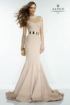 Alyce Paris Claudine - 2552 Dress in Blush