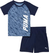 Puma 2 Piece Infant Boy's T-Shirt & Shorts